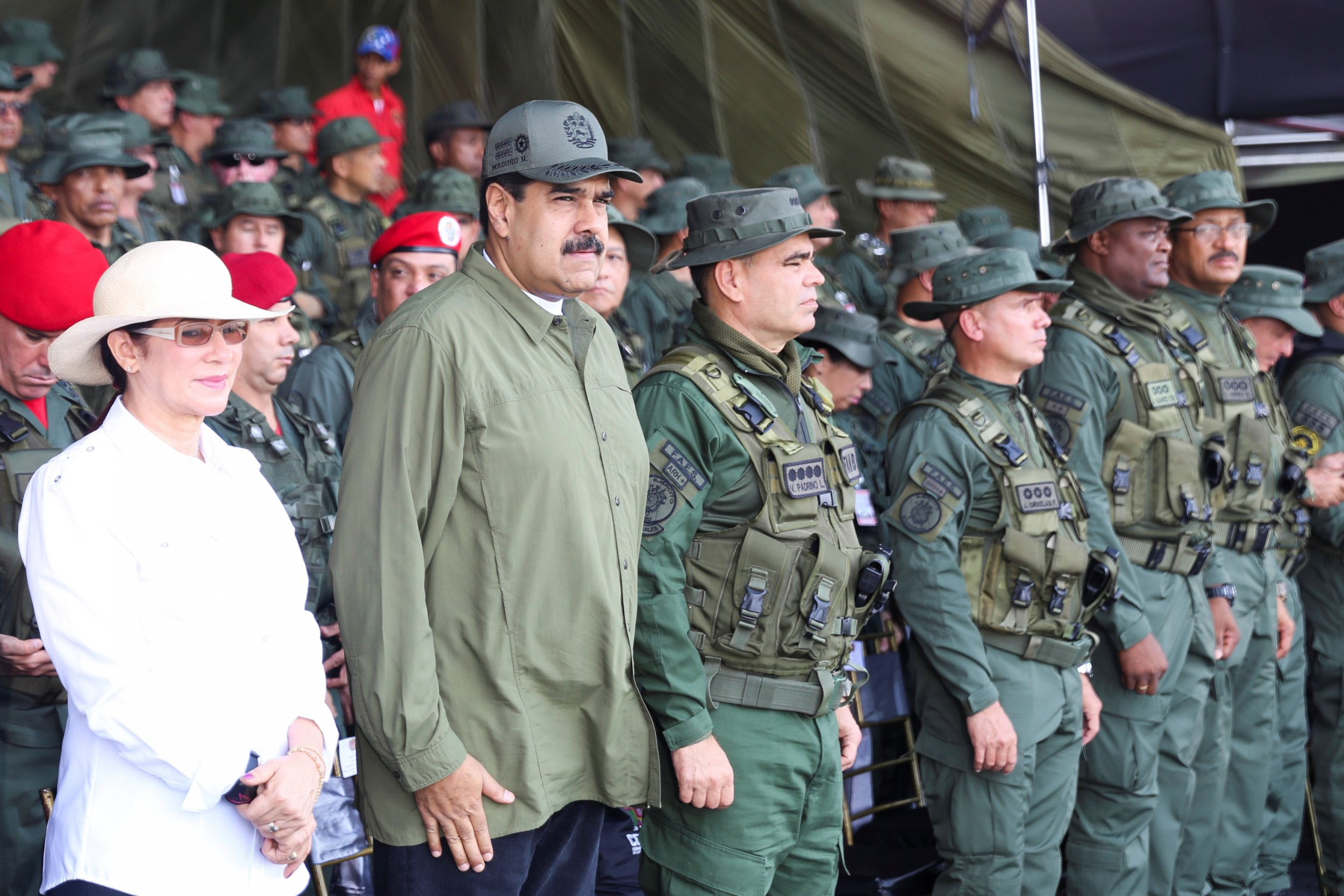 Venezuela prepares for war with U.S. with 'rifles, missiles and well-oiled tanks at the ready'