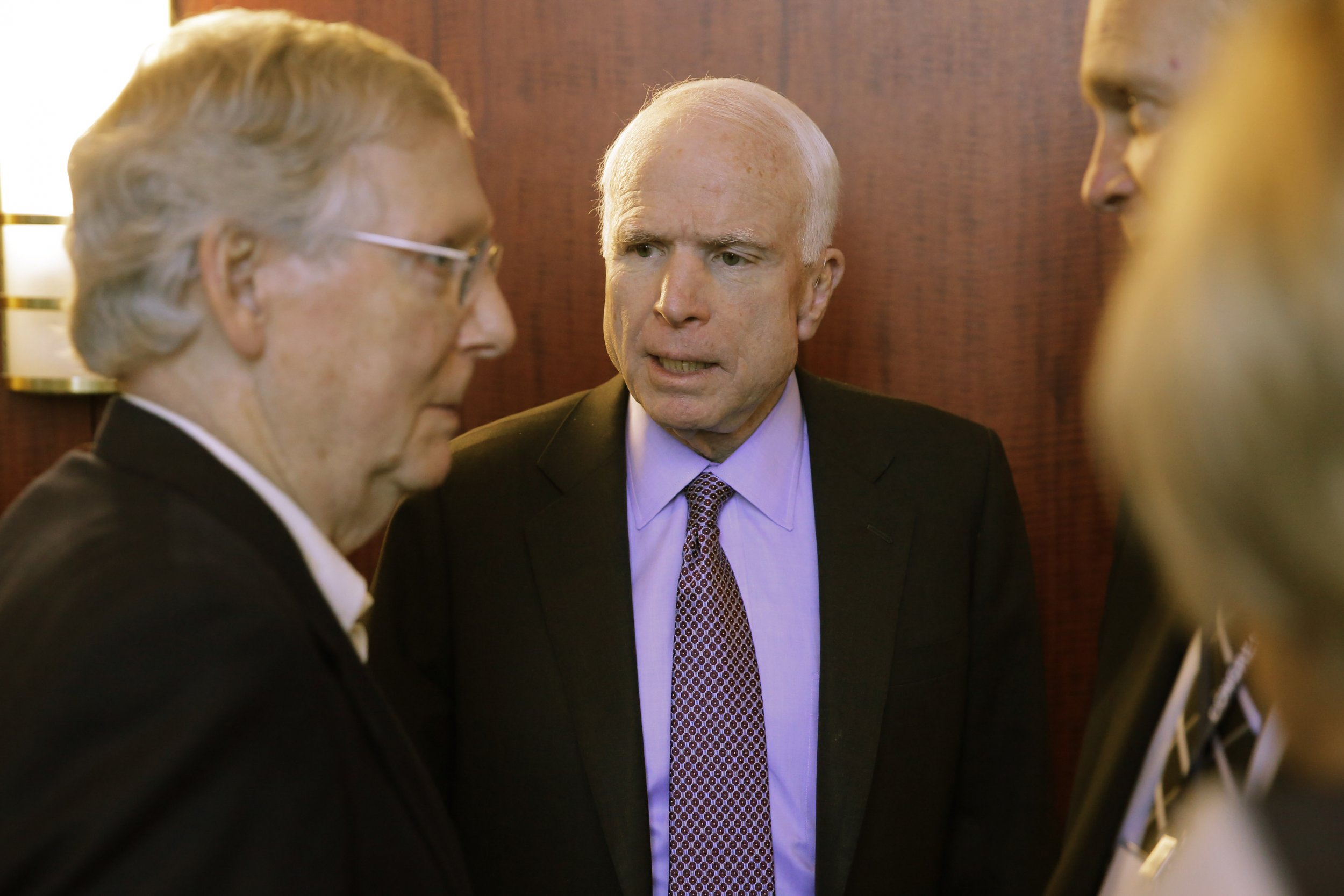 Mitch McConnell, John McCain