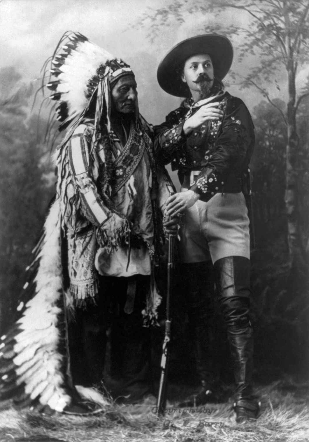 Buffalo Bill Sitting Bull