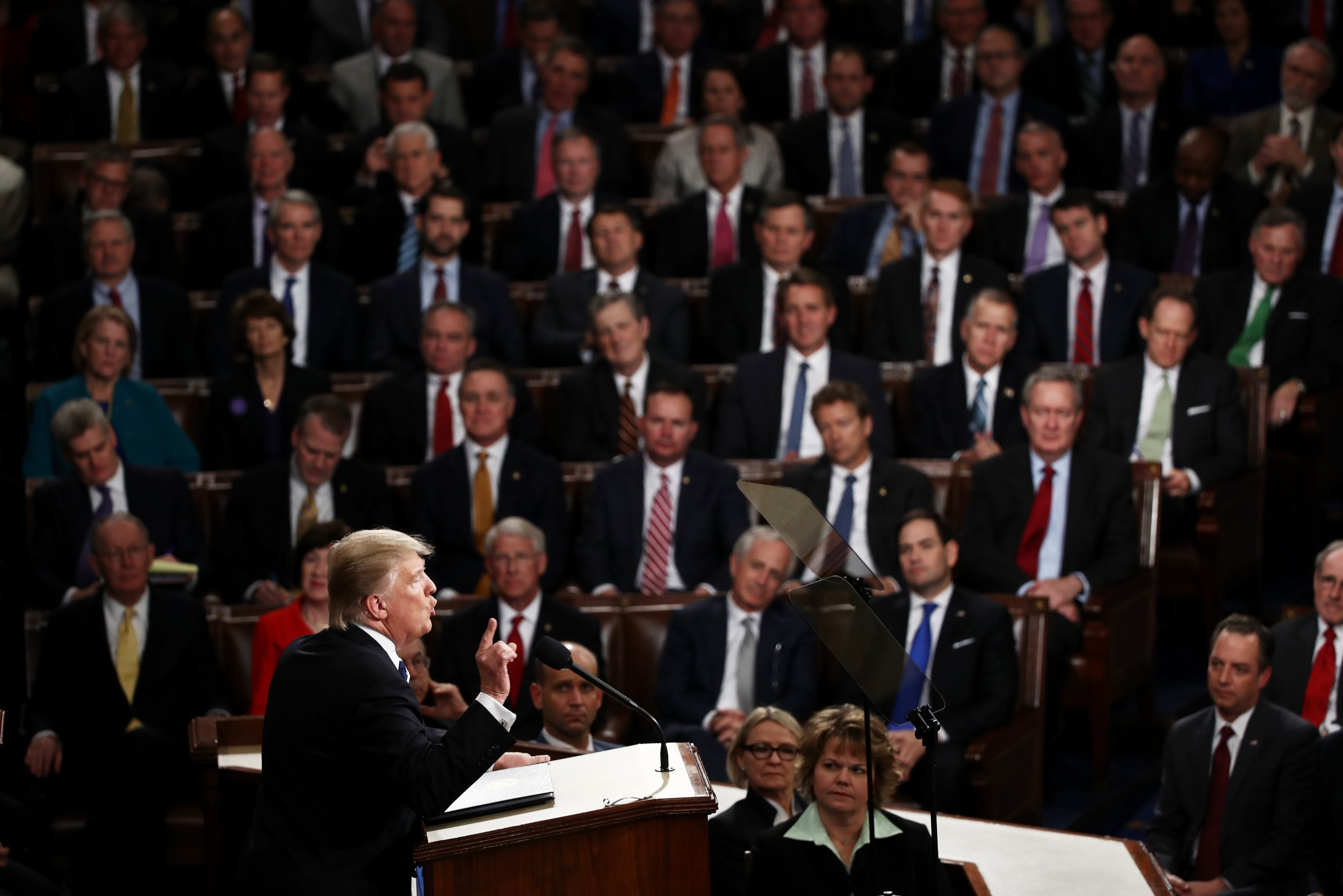 Donald Trump Congress joint address