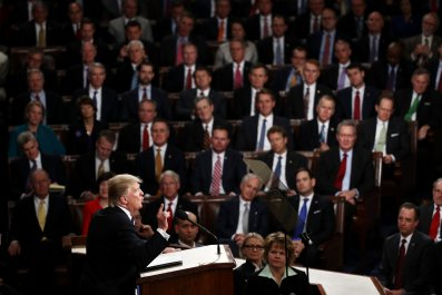 Donald Trump Congress joint address