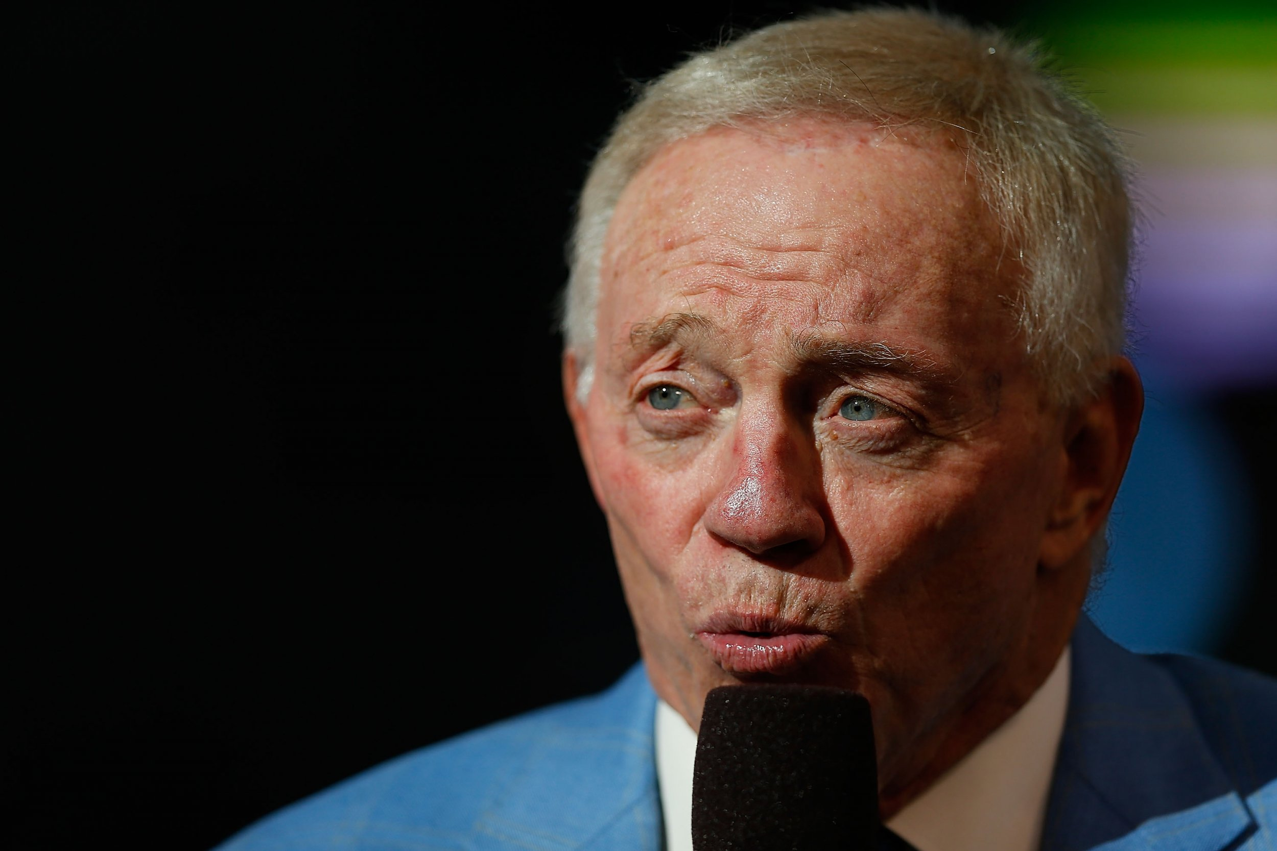 Dallas Cowboys owner Jerry Jones.