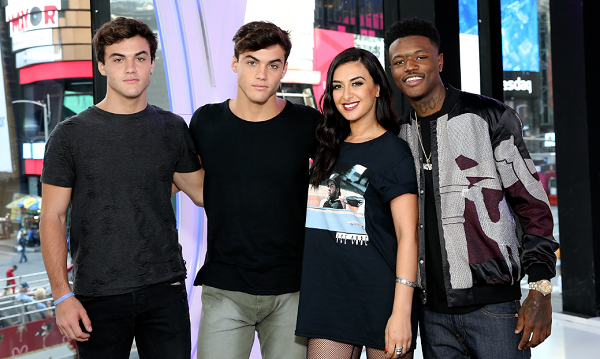 Who are the new hosts on MTV's 'TRL' reboot?