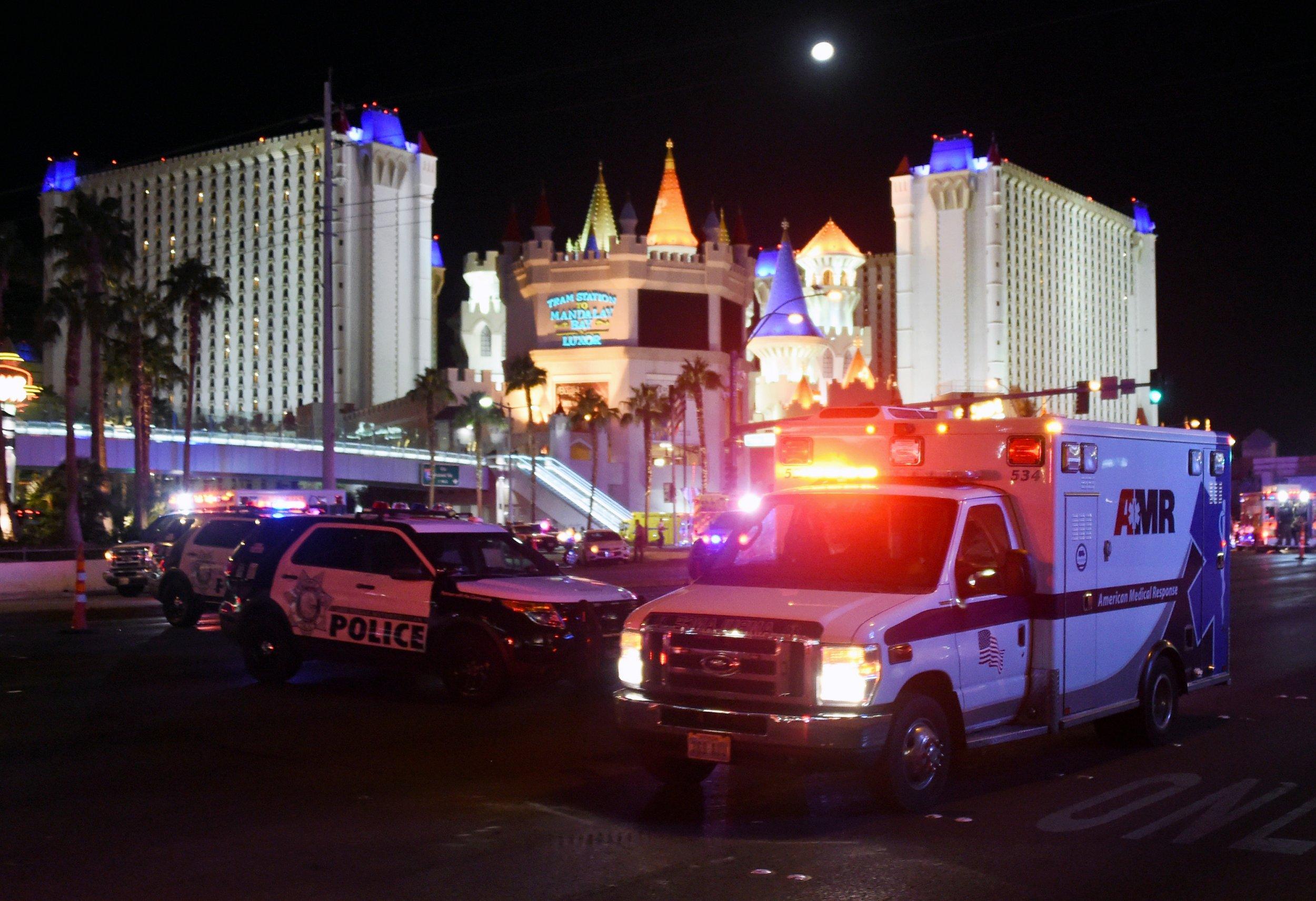 Las Vegas shooting police