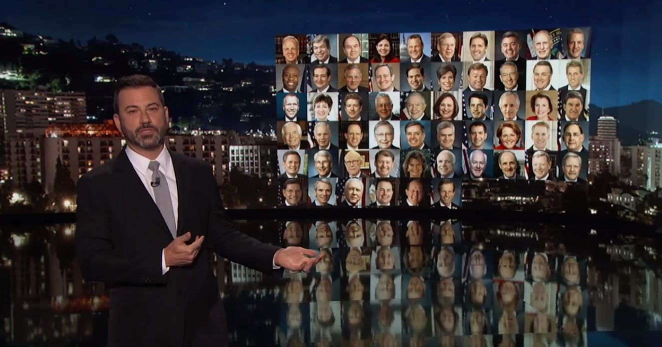Jimmy Kimmel speaks out on gun control