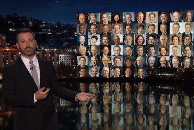 Jimmy Kimmel speaks out on gun control