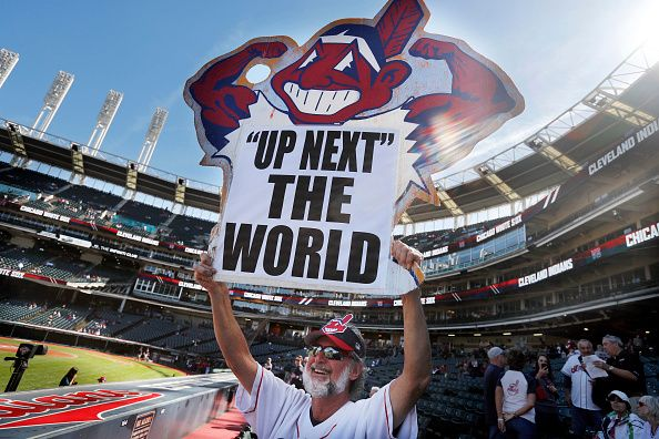 Cleveland indians are favorites to win world series but chief wahoo haunts baseball - Cleveland indians pictures ...