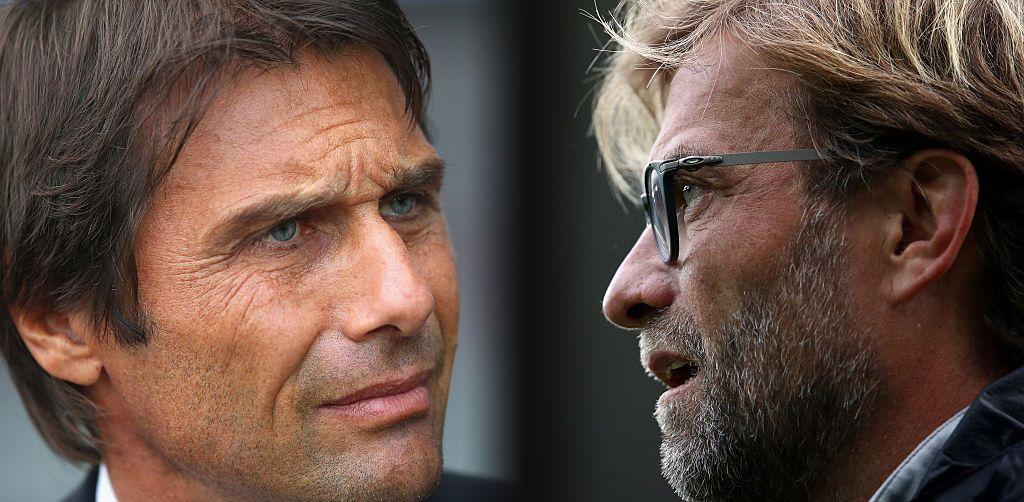 Conte and Klopp