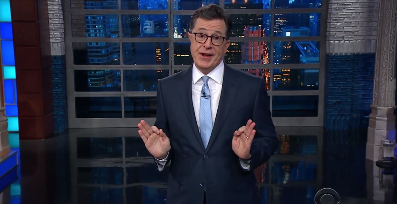 Colbert attacks Trump's daddy issues