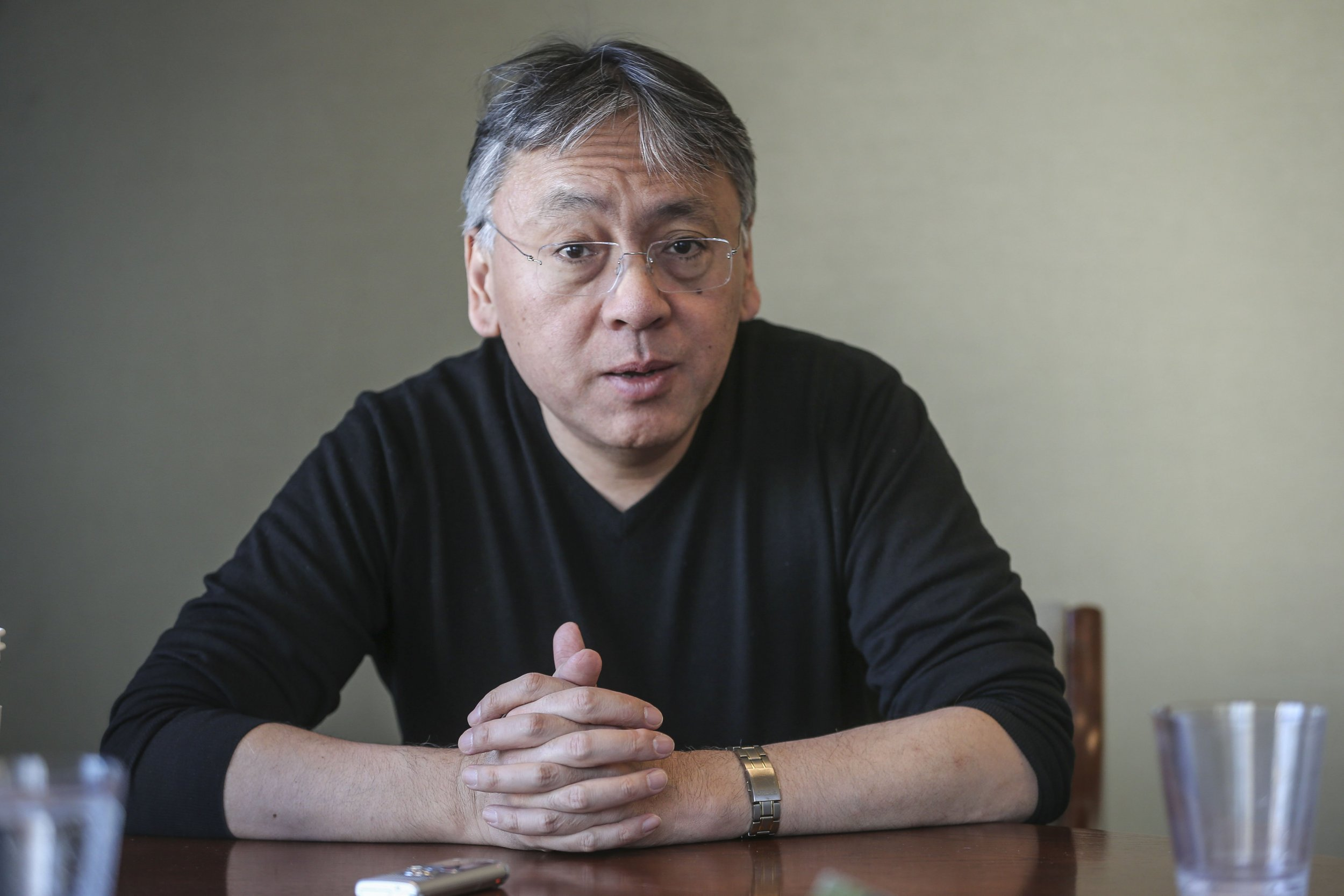 Kazuo Ishiguro, Nobel Prize for literature winner 2017