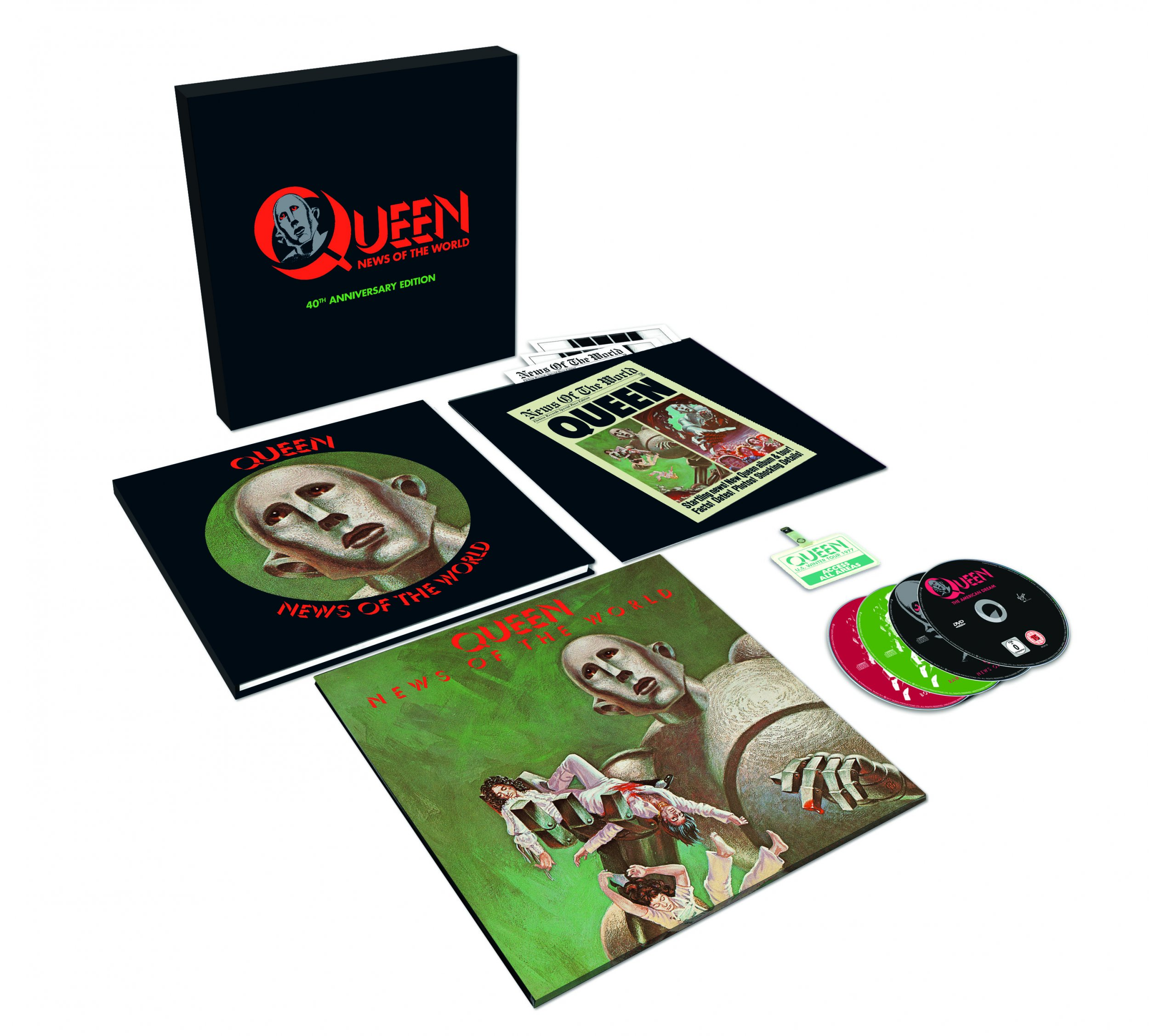 Queen - News of the World 40th Anniversary Edition