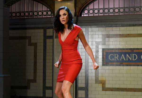 "Gal Gaddot guest hosts on ""Saturday Night Live"""