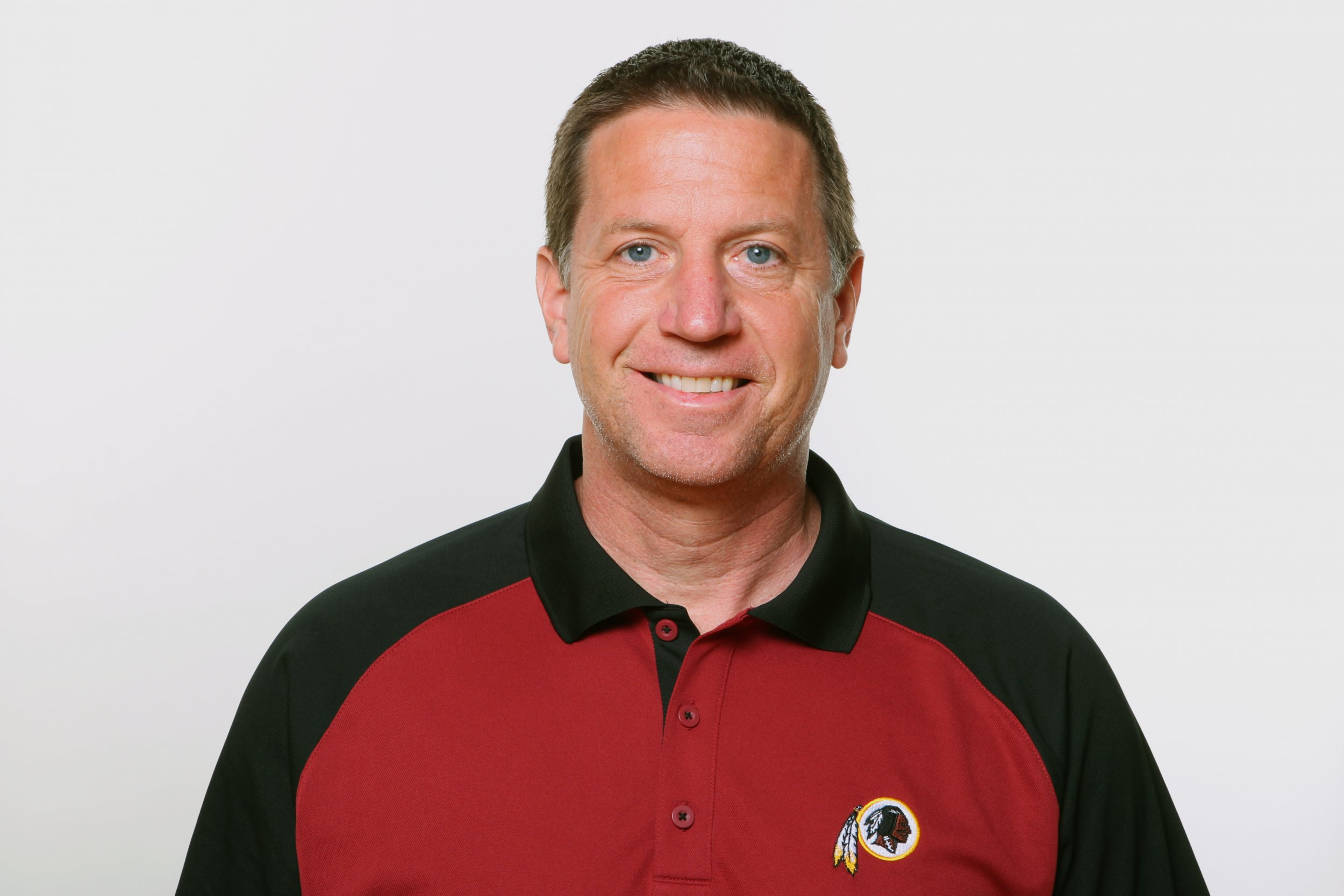 Former Washington Redskins, now Miami Dolphins, offensive line coach Chris Foerster.