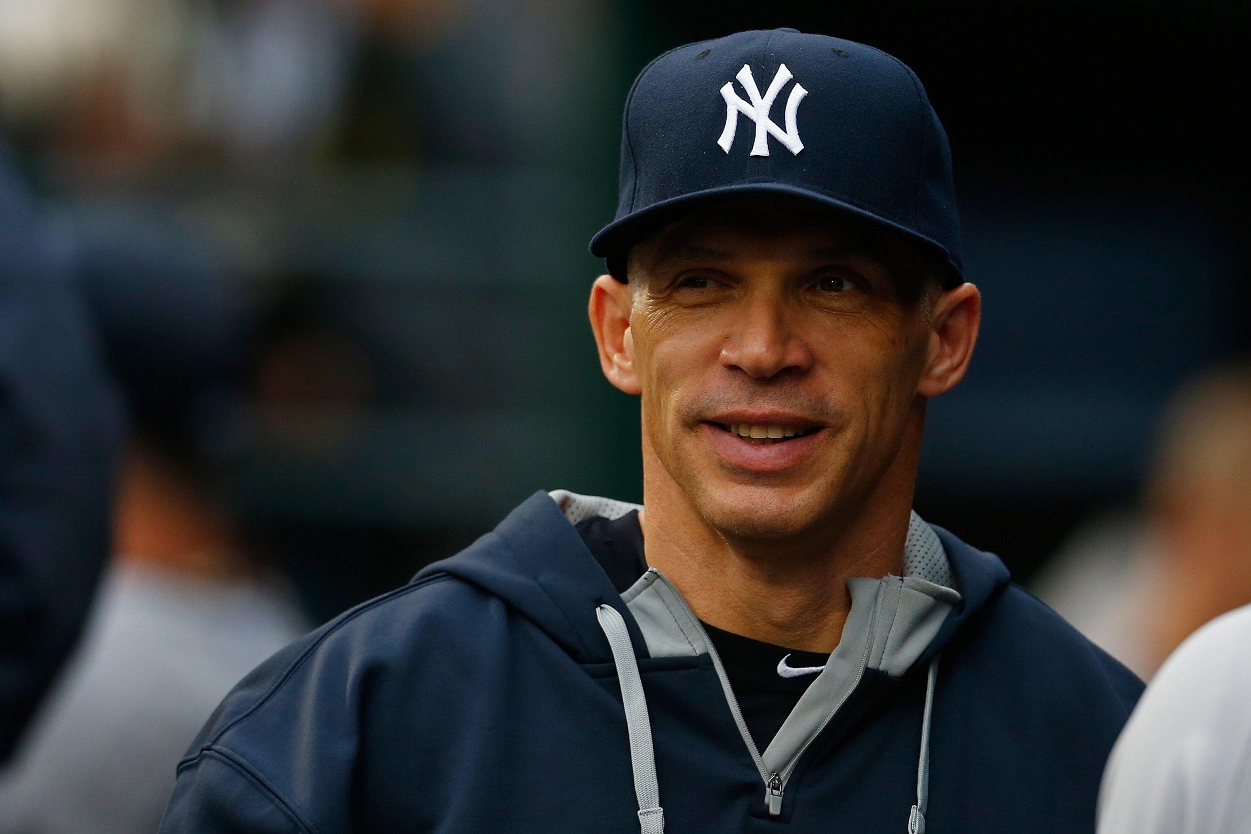 Yankees manager Joe Girardi.