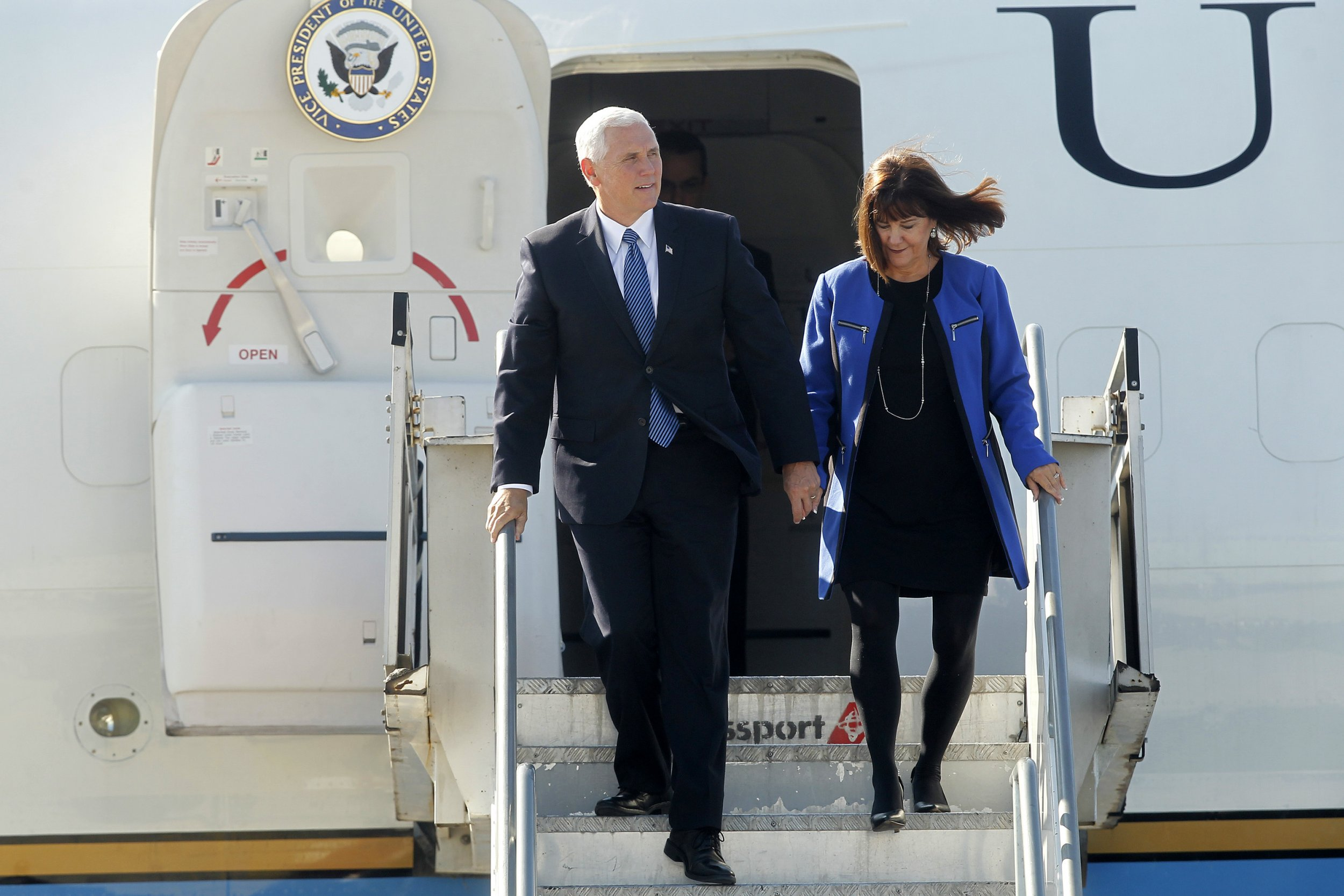 mike pence karen pence travel