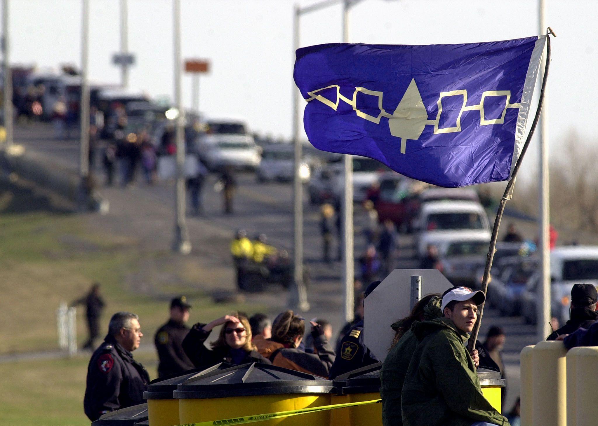 Mohawk Confederation Flag