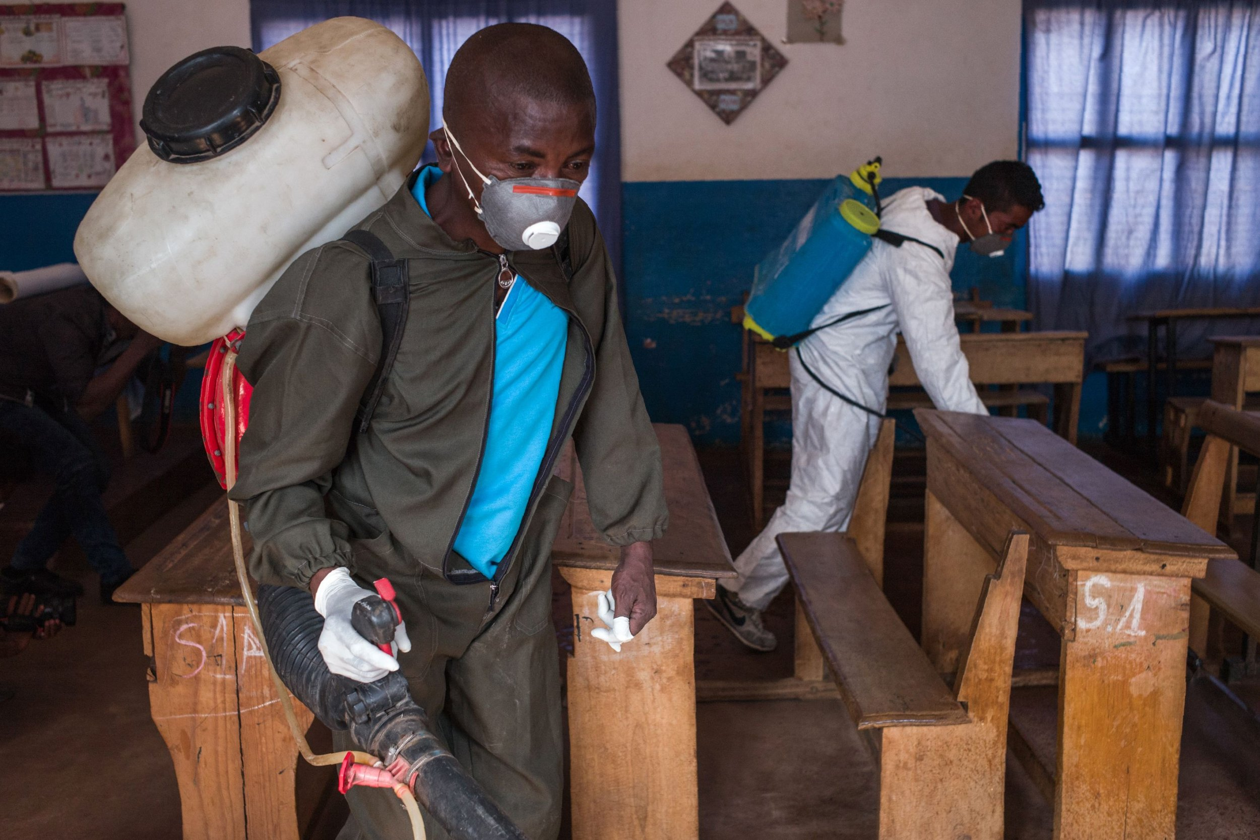 A deadly plague outbreak like Madagascar's could also happen in the U.S., infectious disease expert warns