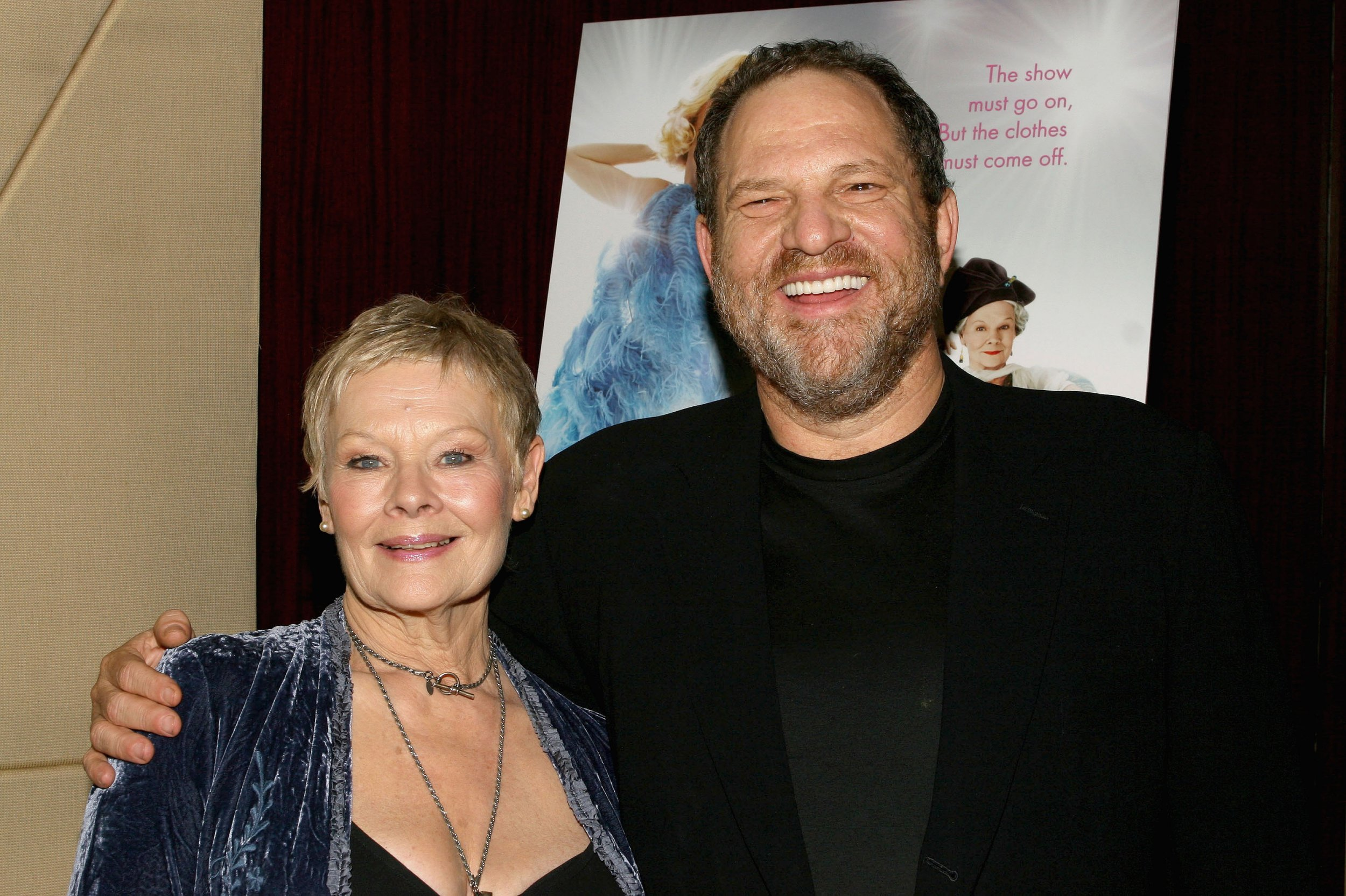 Image result for judi dench and harvey weinstein