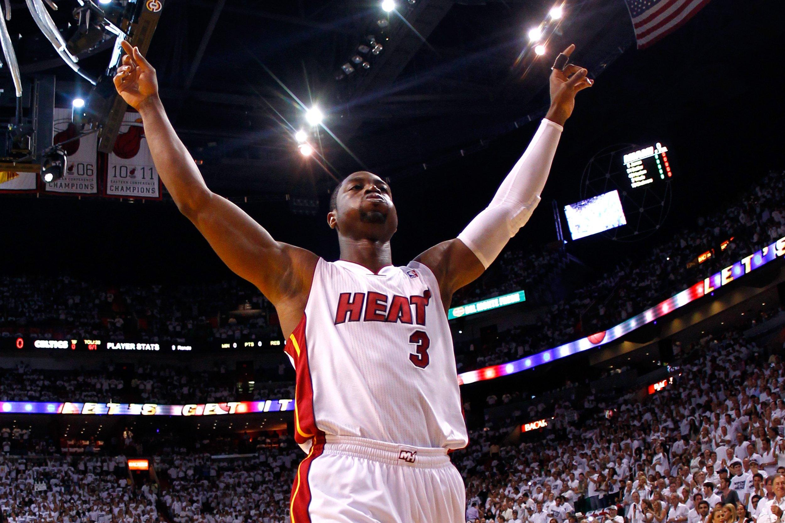 Former Miami Heat star Dwyane Wade.