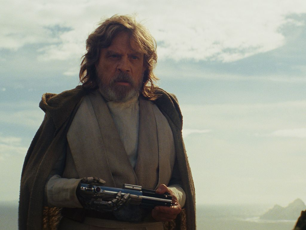 Star Wars The Last Jedi Foreshadowed The Luke Skywalker And Kylo Ren Scene
