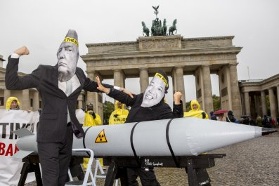 nuclear weapons protest