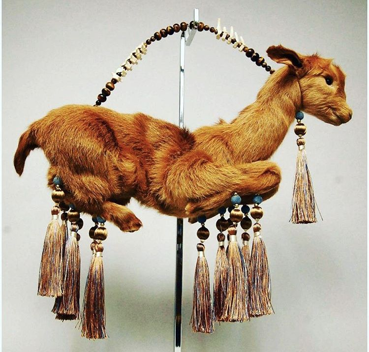 Goat_Purse_Alternative_Taxidermy