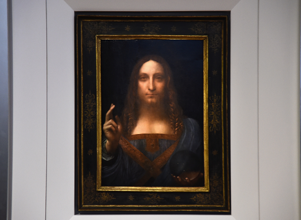Leonardo da Vinci's 'Salvator Mundi' set for $100 million auction