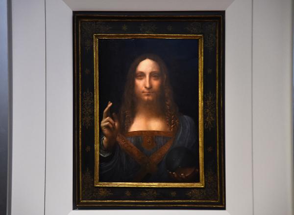 Leonardo da Vinci's 'Salvator Mundi' set for $100 million auction