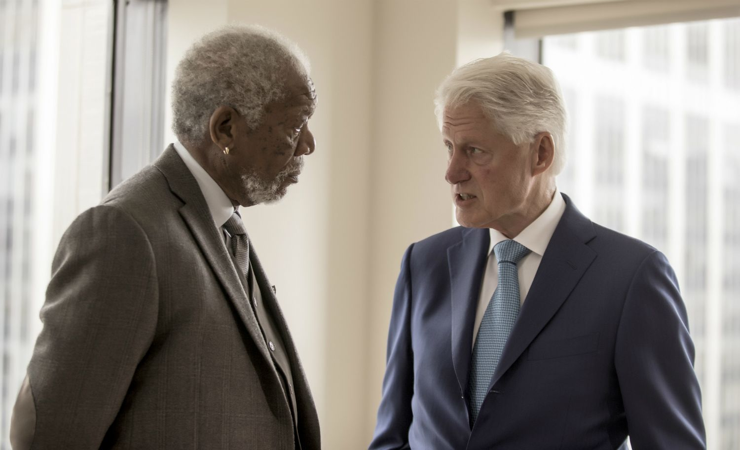Morgan Freeman: Mankind will perish if we don't learn to live together