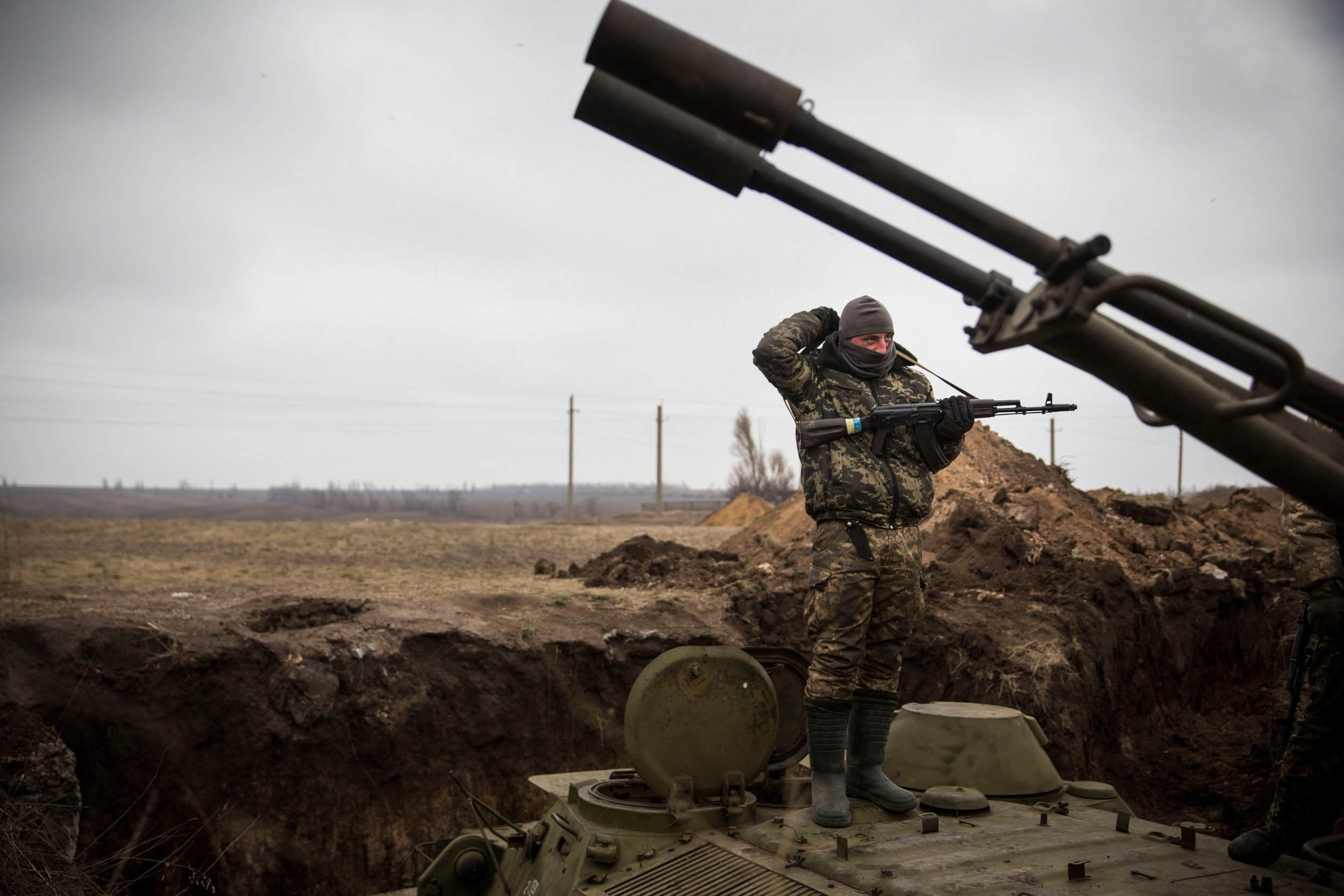 Russia-Backed Forces Could Face Armed Ground Robots in Ukraine Conflict in 2018