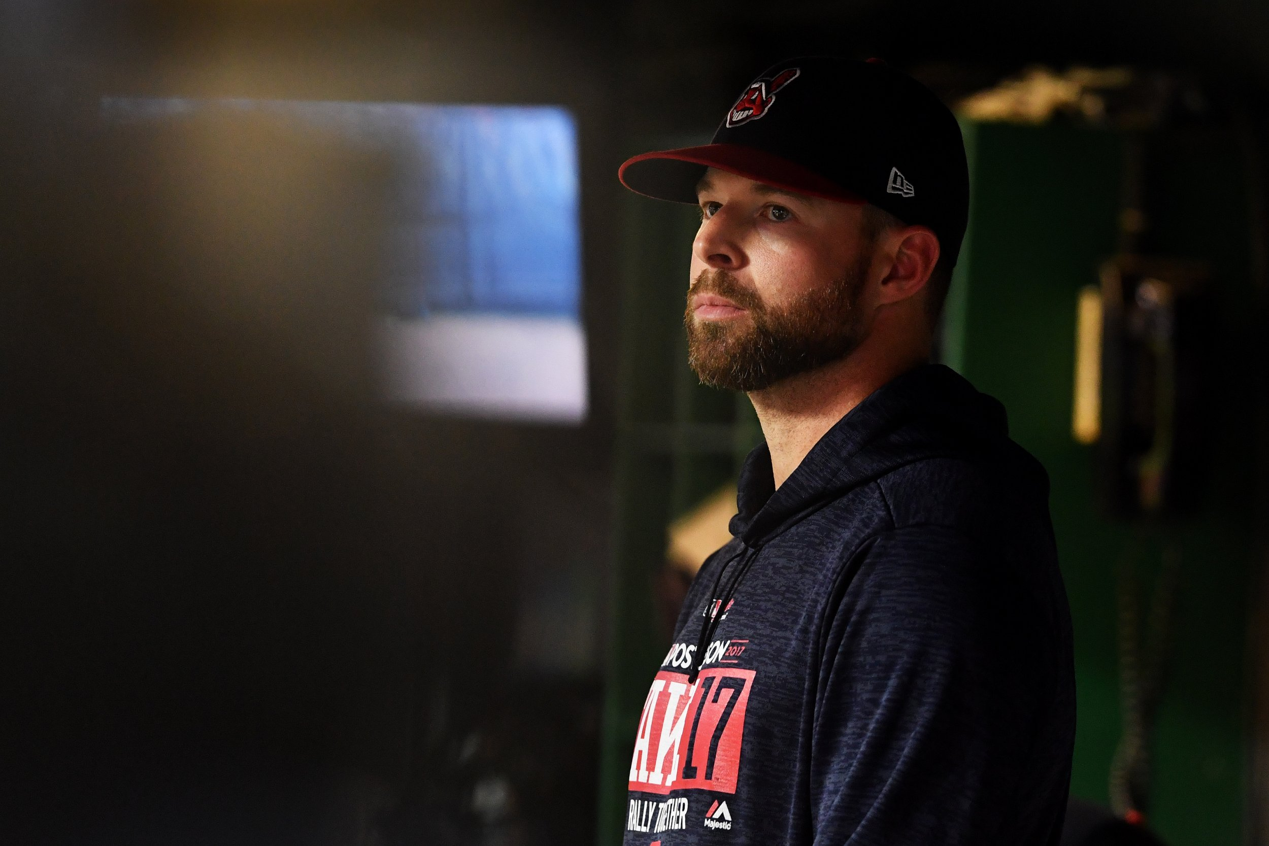 Cleveland Indians starting pitcher Corey Kluber.