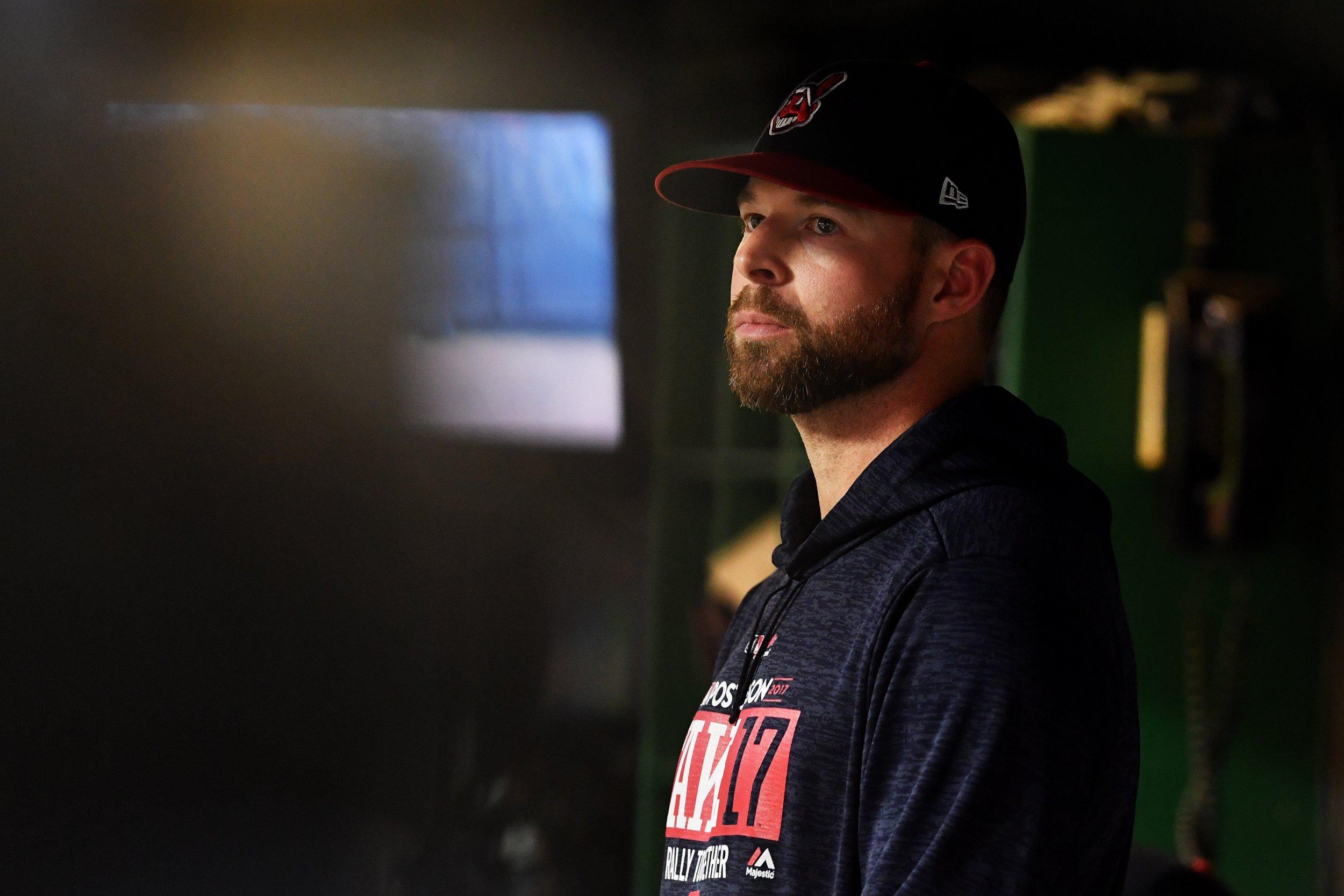 Cleveland Indians starting pitcher Corey Kluber.