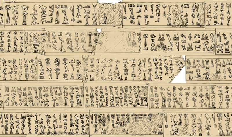 Ancient hieroglyphs have shown how an ancient 'sea people' invaded the lands of the Bible