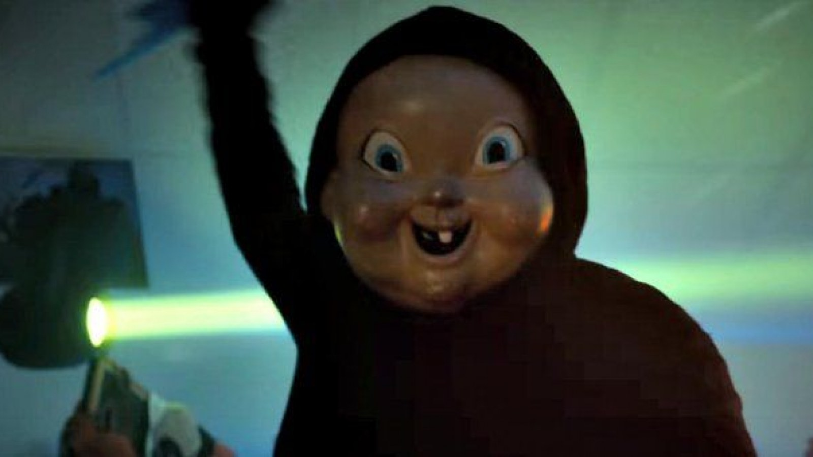 The Story Behind 'Happy Death Day''s Creepy Baby Mask and Tree's
