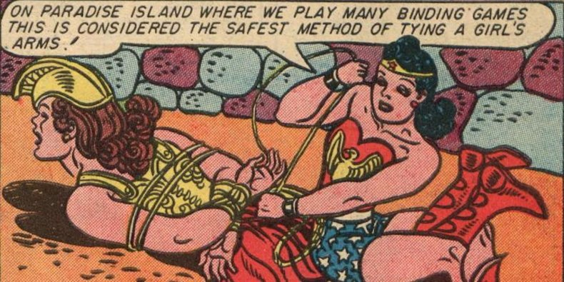 Binding-games-and-bondage-in-Wonder-Woman-comics