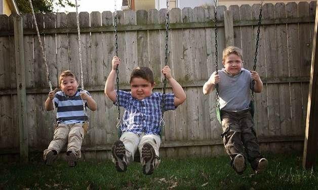 The Vertin Kids Swing
