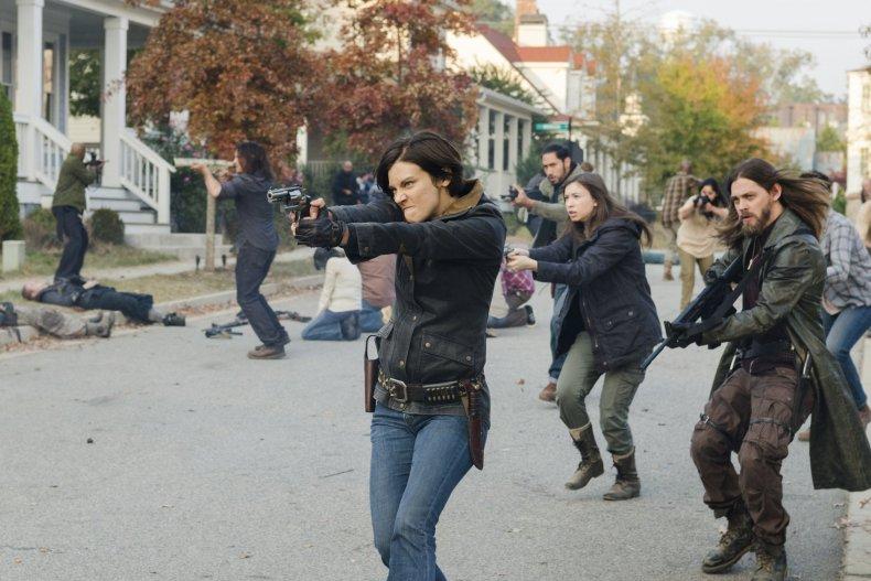 the walking dead season 7 maggie