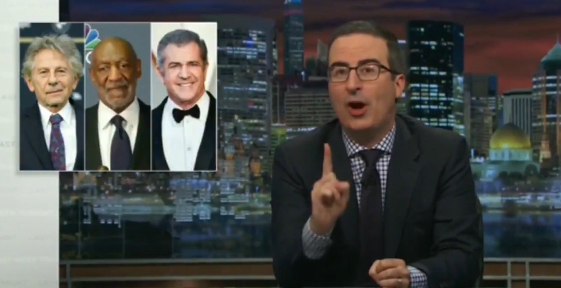 John Oliver calls out Oscars academy