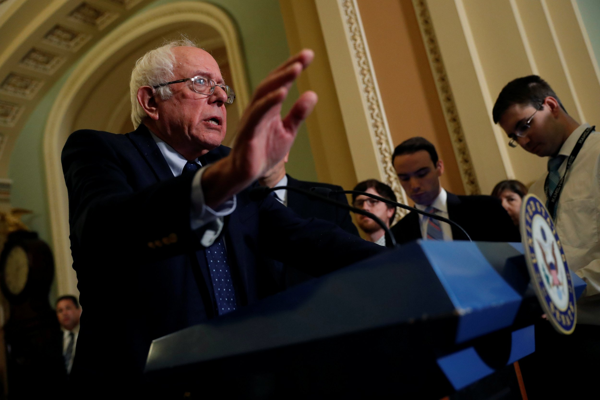 Bernie sanders campaign debt