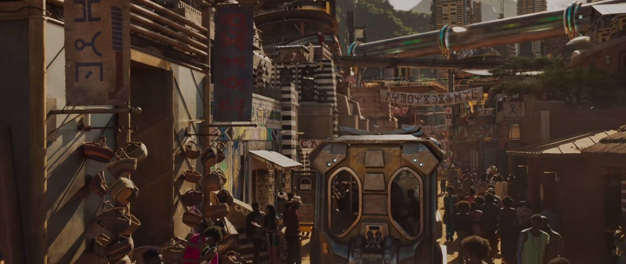 Black Panther Succeeds As Urban Utopia There Are No