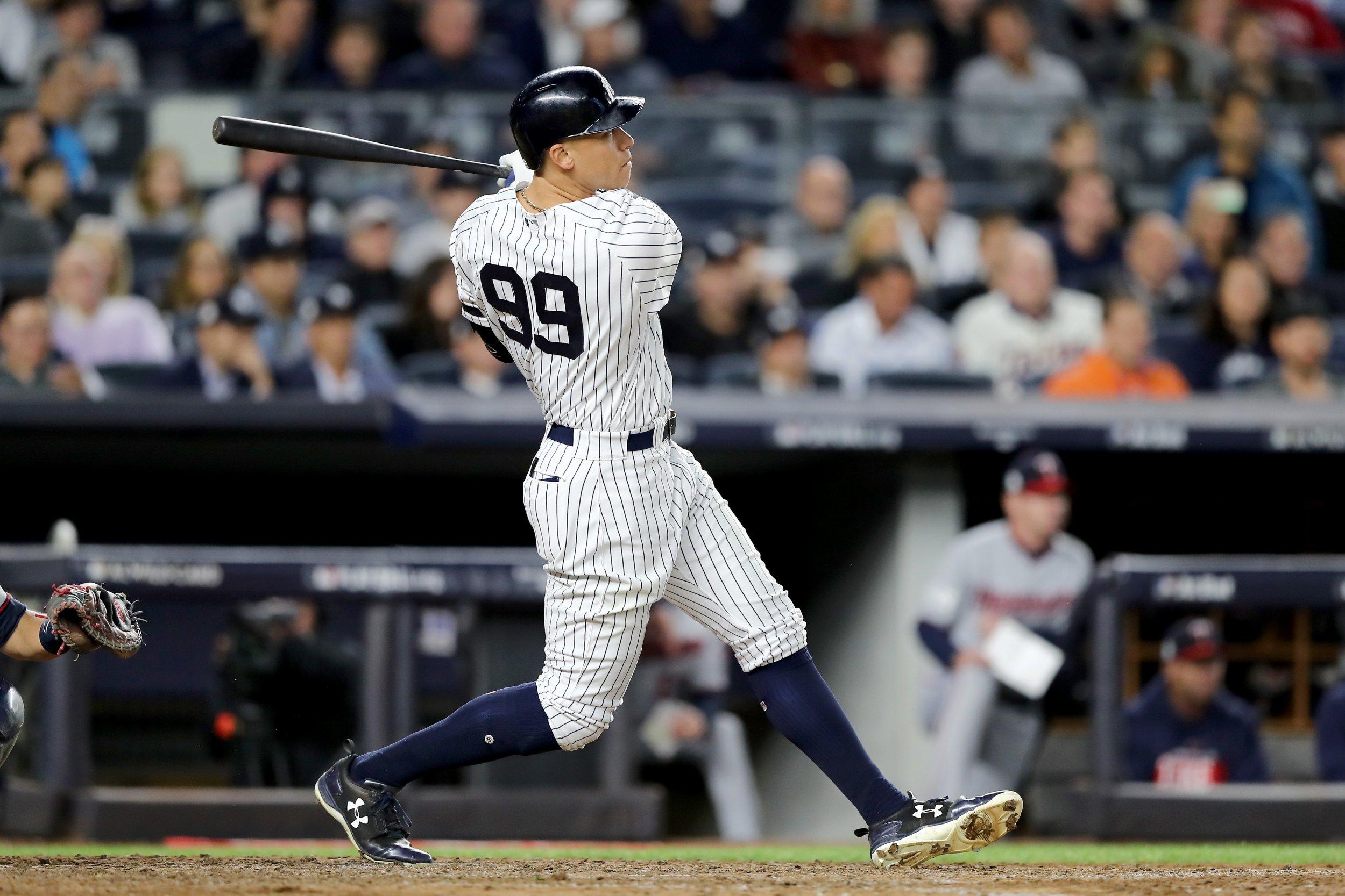 Yankees outfielder Aaron Judge.