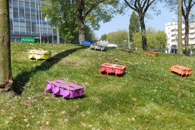 swarm robots zebro robotics delft