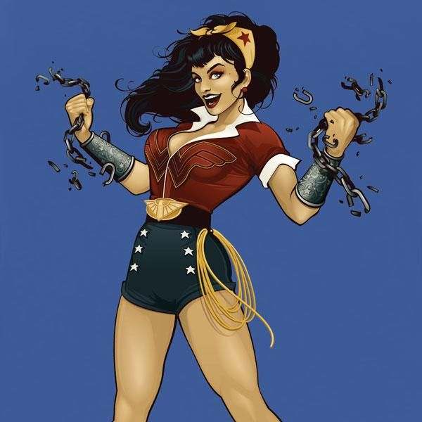 wonder woman dc bombshells