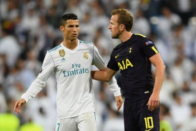 Ronaldo and Kane