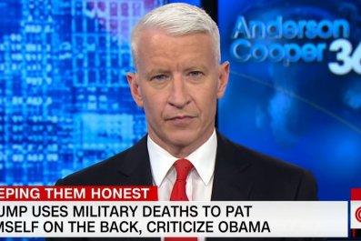 Anderson Cooper slams Trump