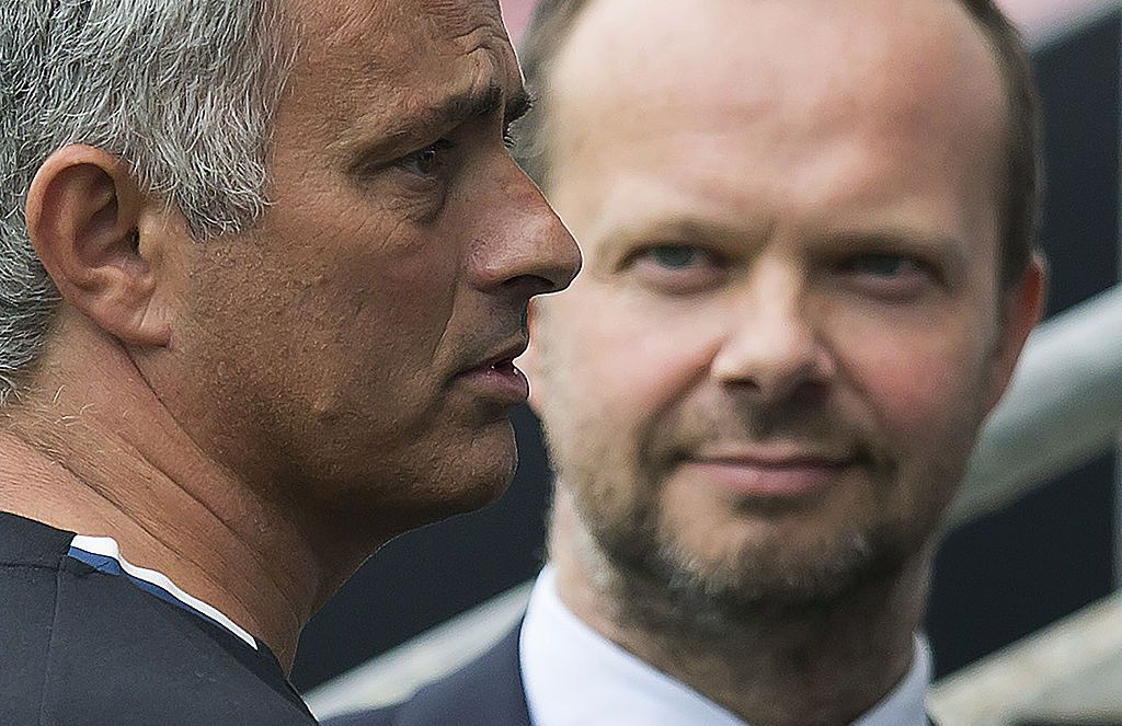 Mourinho and Woodward