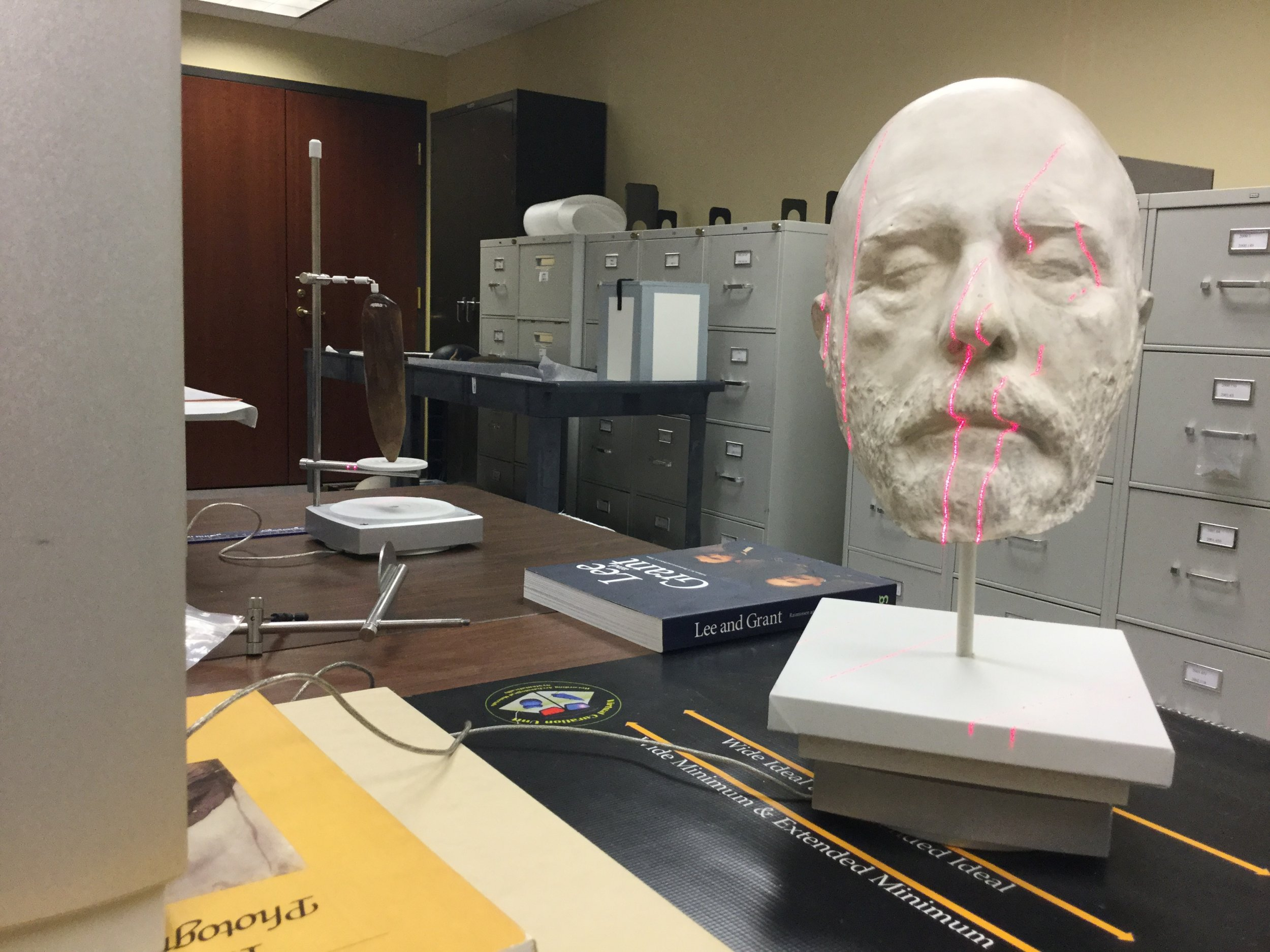 3D_scanning_Robert_E_Lee_Lifemask