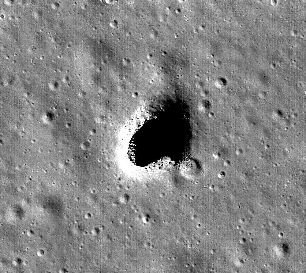 moon shelter nasa space japan