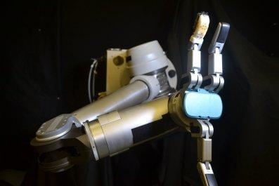 robot artificial skin sense of touch