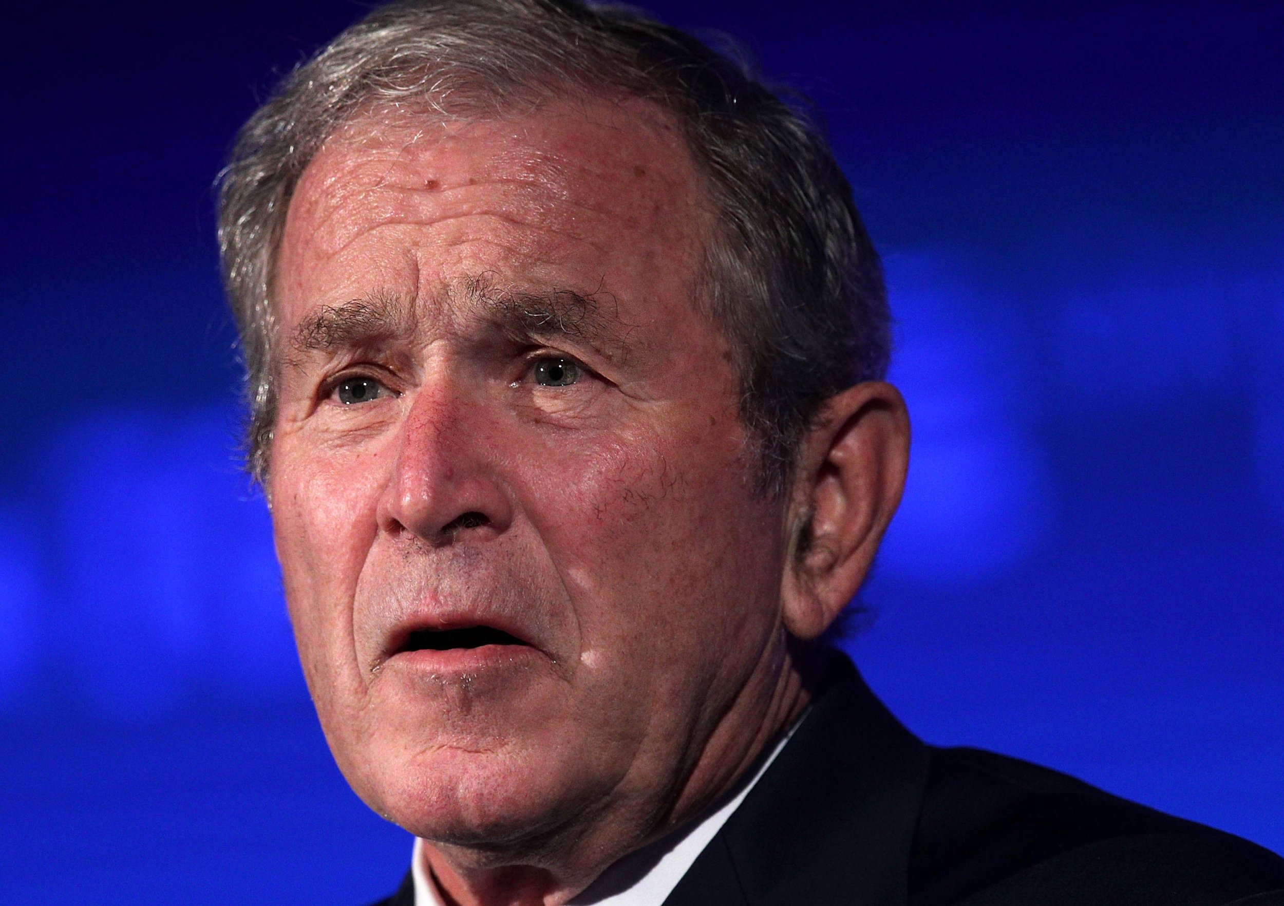 George W. Bush Takes Opposite Tack to Trump, Stating There ...